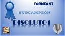 97º DIPLOMA SUBCAMPEÓN