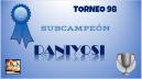 98º DIPLOMA SUBCAMPEÓN