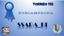T118DIPLOMA SUBCAMPEONA