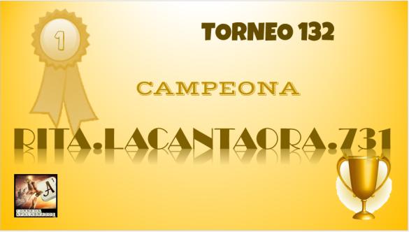 T132 DIPLOMA CAMPEONA